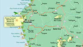 Costa Rica Maps To Help You Plan Your Vacation Go Visit Costa Rica - Map of costa rica