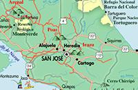 View Costa Rica Maps