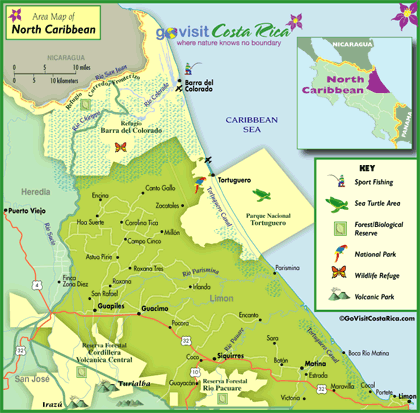 Northern Caribbean  Map