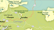 Cartago Map