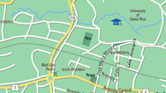 East San Jose Map