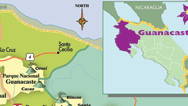 Guanacaste Map