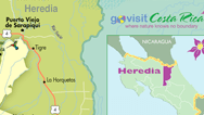 Heredia Map