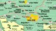 Mapa de San José