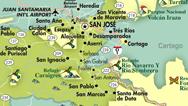 Mapa de San Jose
