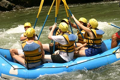 White Water Rafting on the Pacuare River